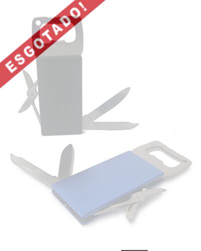 Abridor de Metal com 4 funções - Abridor de Garrafa Personalizado
