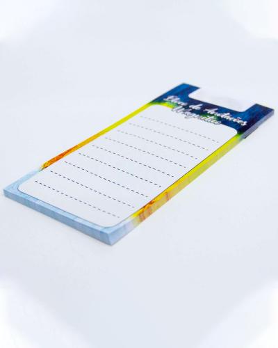Bloco de anotações com Imã para Geladeira Personalizado