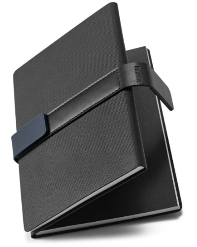 Caderno com Capa de Couro Sintetico Personalizado