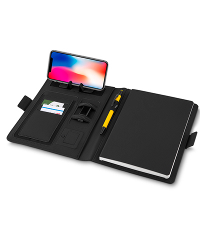 Caderno Personalizado com Powerbank