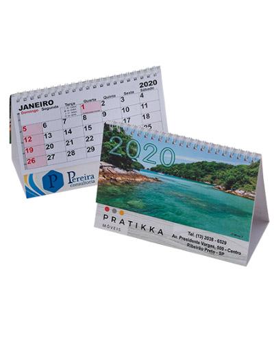 Calendario de Mesa Personalizado