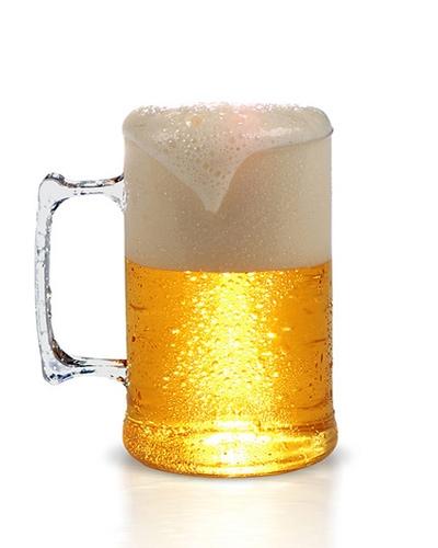 Caneca para Cerveja em Acrílico Personalizada