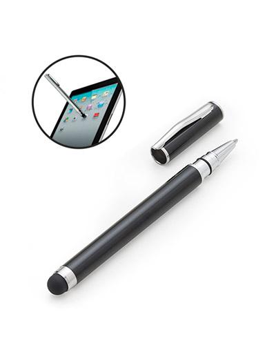 Caneta Touch Screen para Notebook Personalizada | Caneta de metal esferográfica com ponteira touch e