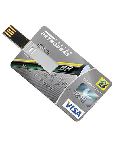 Cartao pen drive com 4GB Personalizado