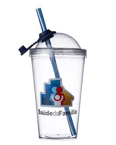 Copo Azul Personalizado