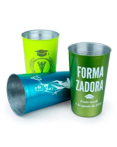 Copo de Aluminio para Cerveja Personalizado