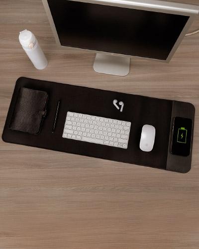 Desk Pad com carregador Wireless Personalizado