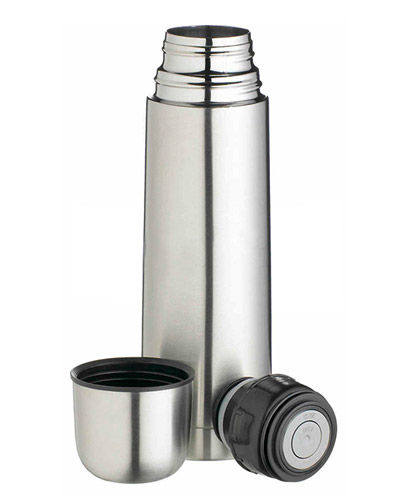 Garrafa Térmica de Inox 500ml Personalizada | Garrafa térmica personalizada com logomarca impressa a