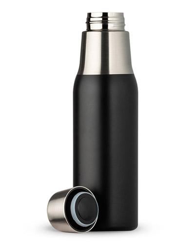 Garrafa Térmica Personalizada Preto Fosco