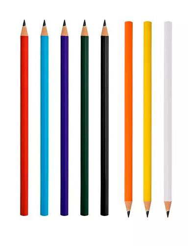 Lápis Personalizado para Brinde | Lápis de madeira Personalizado. Com escrita macia e impressão da l