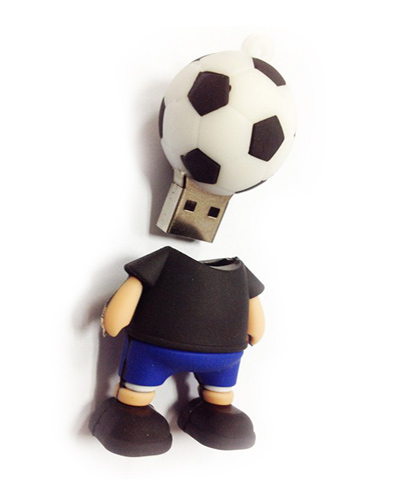 Pen drive 3D Customizado em Borracha