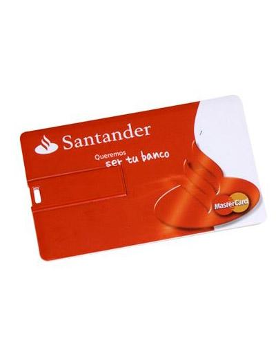 Pen drive Cartão Personalizado 4GB