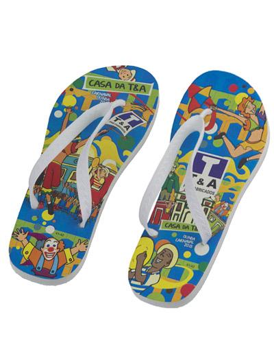 Sandálias personalizadas - Chinelos Personalizados