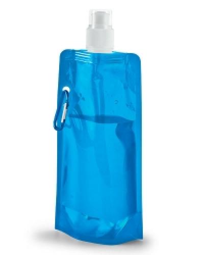 Squeeze de Plástico Dobrável | Squeeze Dobrável.Personalizados com a sua logomarca, feito em materia