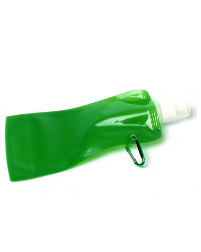 Squeeze Plástico Dobrável 480 ml | Squeeze Dobrável Personalizado. Disponível em cores variadas esse