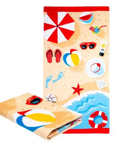 Toalha de Praia Sublimada