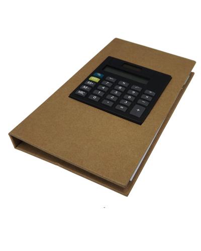 Bloco de Anotação - Bloco Personalizado com calculadora