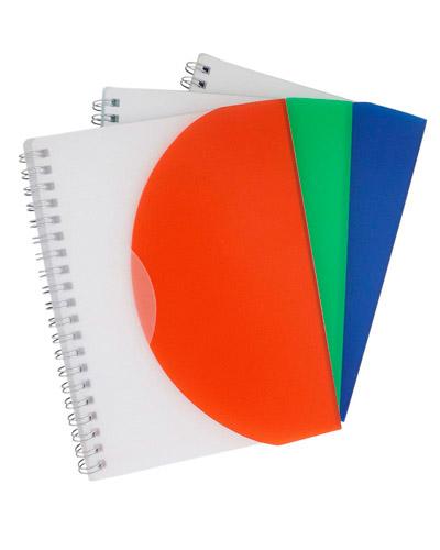 Bloco de Anotação - Bloco Personalizado com capa Plástica