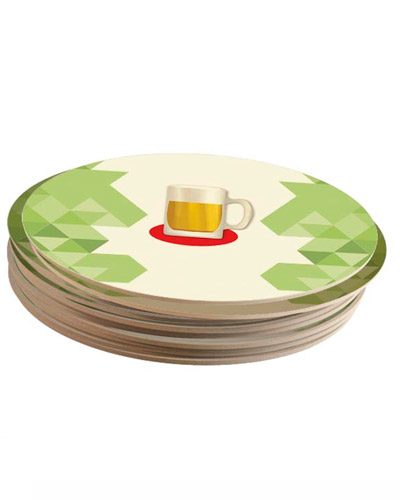 Bolacha de Chopp Personalizada - Bolacha de Cerveja Personalizada