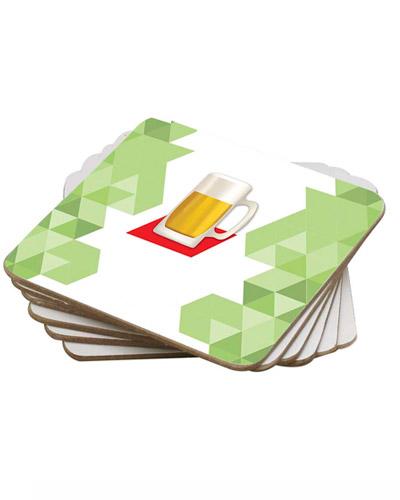 Brindes Personalizados -  Bolacha de chopp de Papelão para Brindes