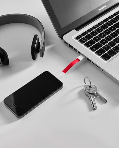 Carregador Portátil Personalizado - Cabo USB Personalizado