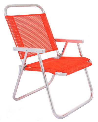 Cadeira de Praia Personalizada - Cadeira de Praia Aluminio