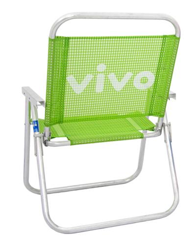 Cadeira de Praia Personalizada - Cadeira de Praia Personalizada