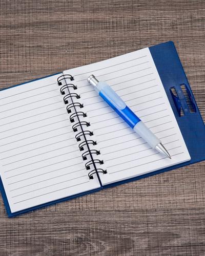 Cadernos Personalizados - Caderno com Caneta