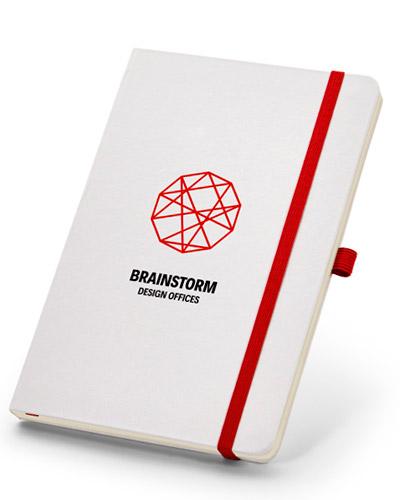 Cadernos Personalizados - Caderno de Anotações Sem Pauta para Brindes