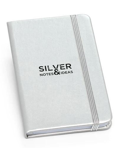 Moleskine Personalizado - Caderno Moleskine Capa Metalizada para Brindes