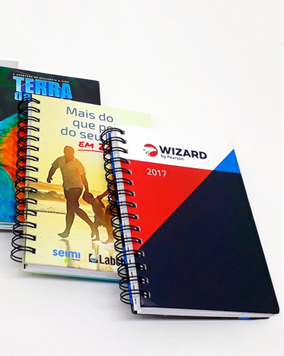 Cadernos Promocionais