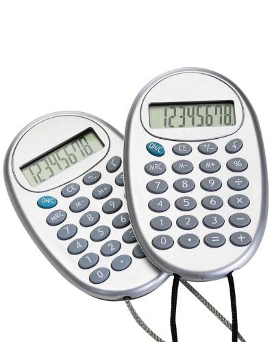 Brindes Personalizados -  Calculadora com Cordão Personalizada