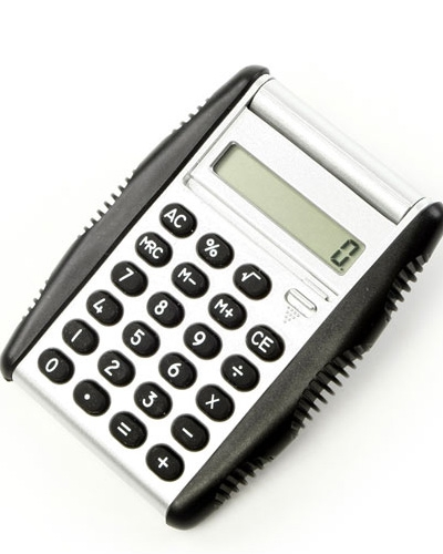 Calculadoras - Calculadora com detalhes em Borracha