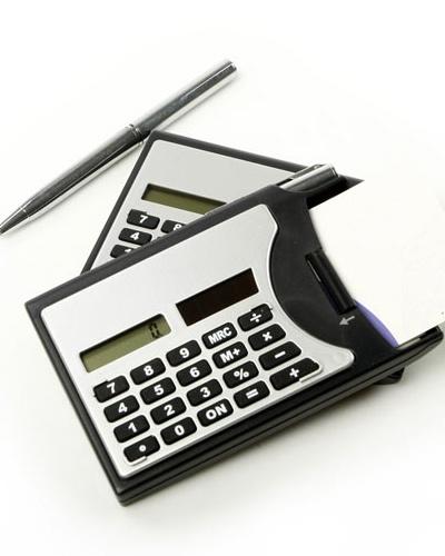 Brindes Personalizados -  Calculadora Personalizada com Caneta