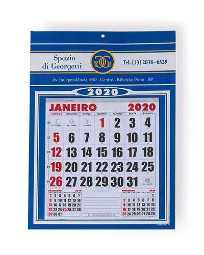 Calendário Personalizado - Calendário de Parede Personalizado