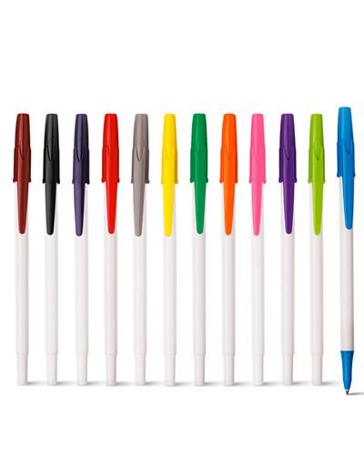 Caneta Plástica - Caneta Colorida para Brindes