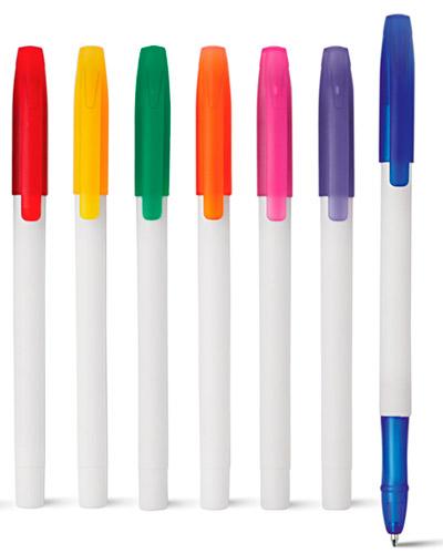 Caneta Plástica - Caneta Plastica Colorida Promocional