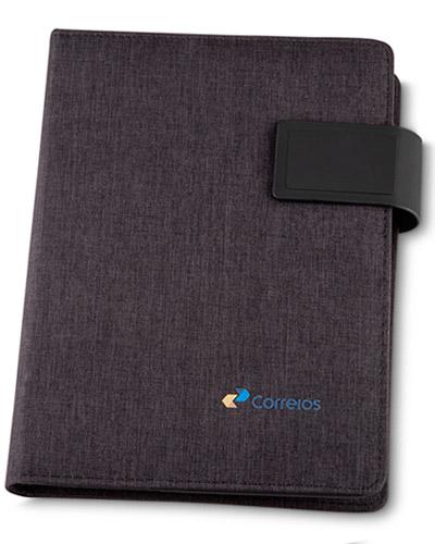 Cadernos Personalizados - Capa para Caderno com Powerbank Personalizada
