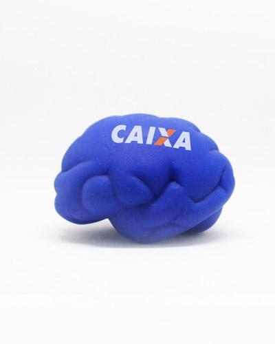 Bola Anti-Stress Personalizada - Cérebro Anti Stress de Vinil Personalizado