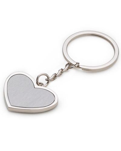 Chaveirinhos Personalizados em Formato de Coração