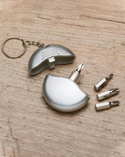 Kit ferramentas - Chaveiro com kit de Ferramenta Personalizado 4 Peças