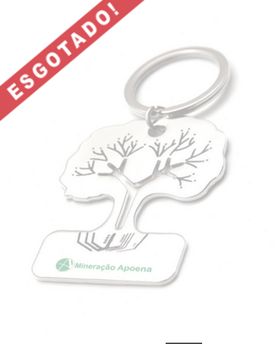 Chaveiros Criativos - Chaveiro de Metal Árvore Personalizado