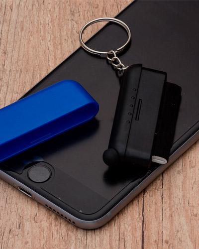 Chaveiro Multiuso - Chaveiro Limpador com Touch Personalizado