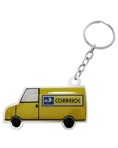 Chaveiro Resinado - Chaveiro Resinado Personalizado Van