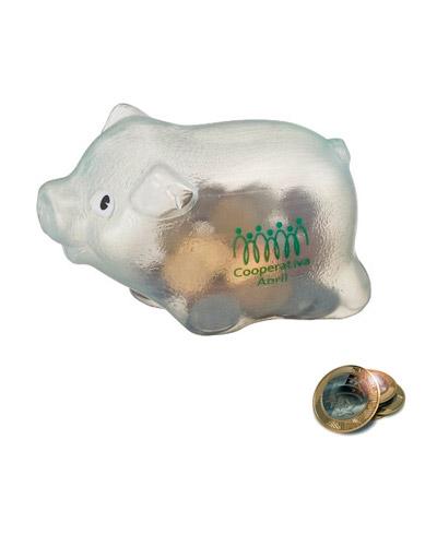 Cofre Personalizado - Cofre Porquinho Plástico Personalizado