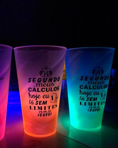 Copos Neon Personalizados - Copo Neon Personalizado
