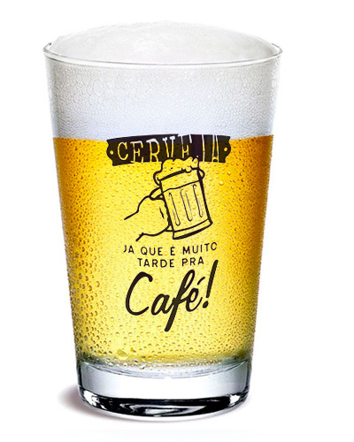 Copos de Vidro Personalizados - Copos de Cerveja Personalizados