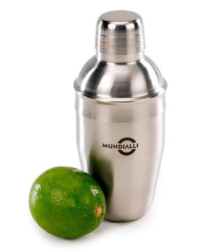 Brindes Personalizados -  Coqueteleira de Inox com 550 ML