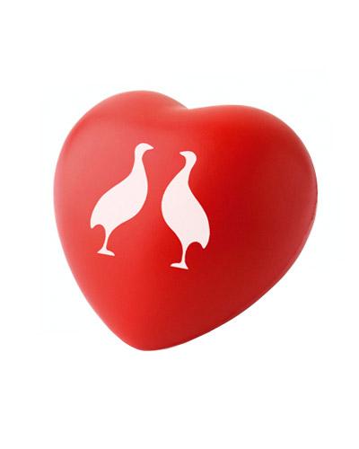 Bola Anti-Stress Personalizada - Coração Anti-stress Personalizado