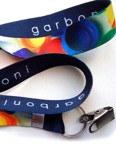 Cordão para Crachá Personalizado - Cordão Personalizado com Impressão Digital